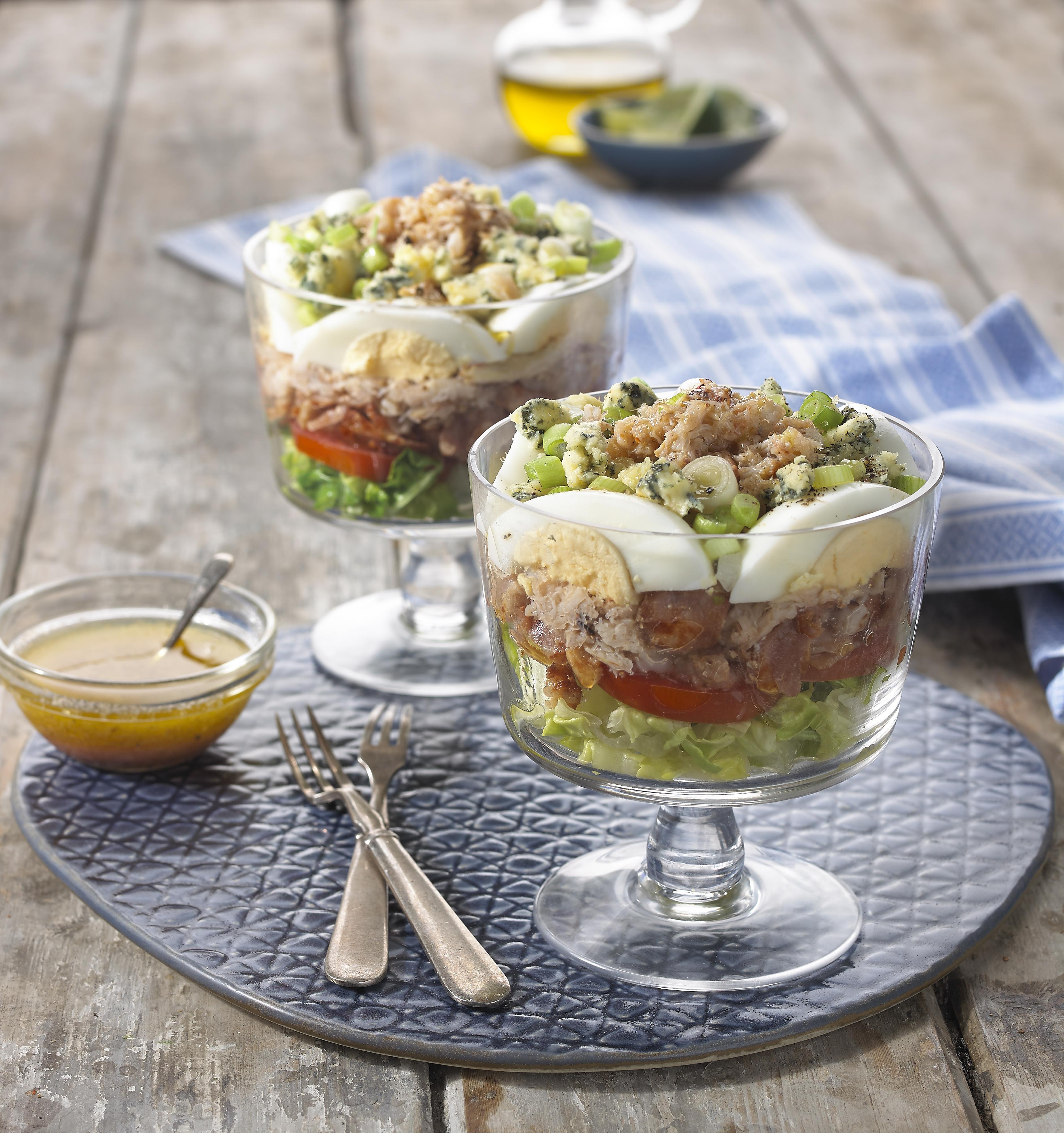 crab cob salad