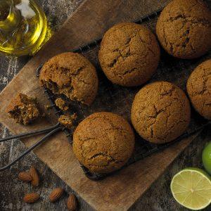 Bouchées sucrées à l'huile d'olive, aux graines de pavot et au citron vert