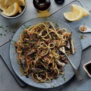 Pâtes siciliennes aux sardines