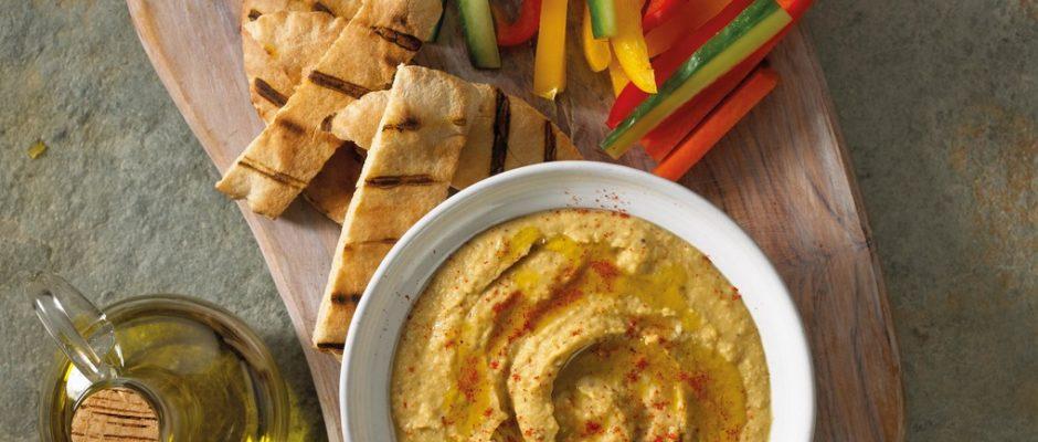 Artichoke Hummus Dip