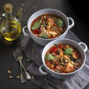 Healthy Chicken Quinoa & Parmesan Casserole