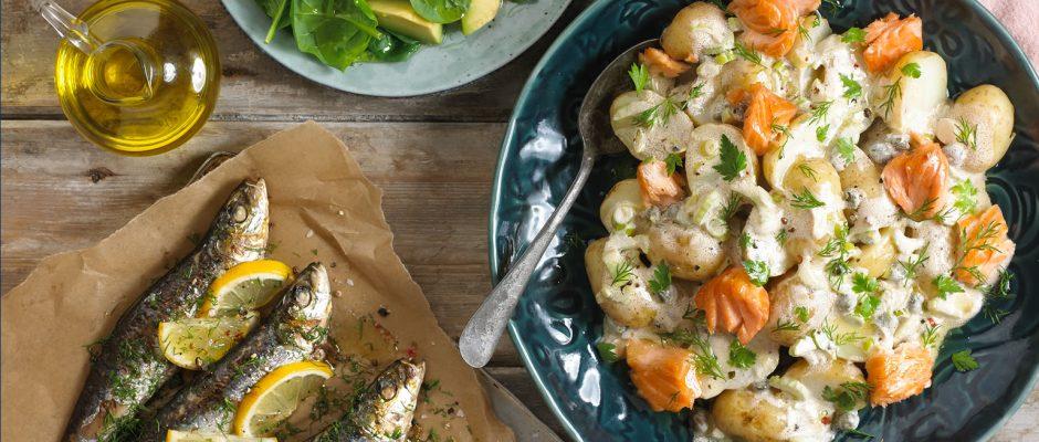 Scandinavian Omega 3 Potato Salad