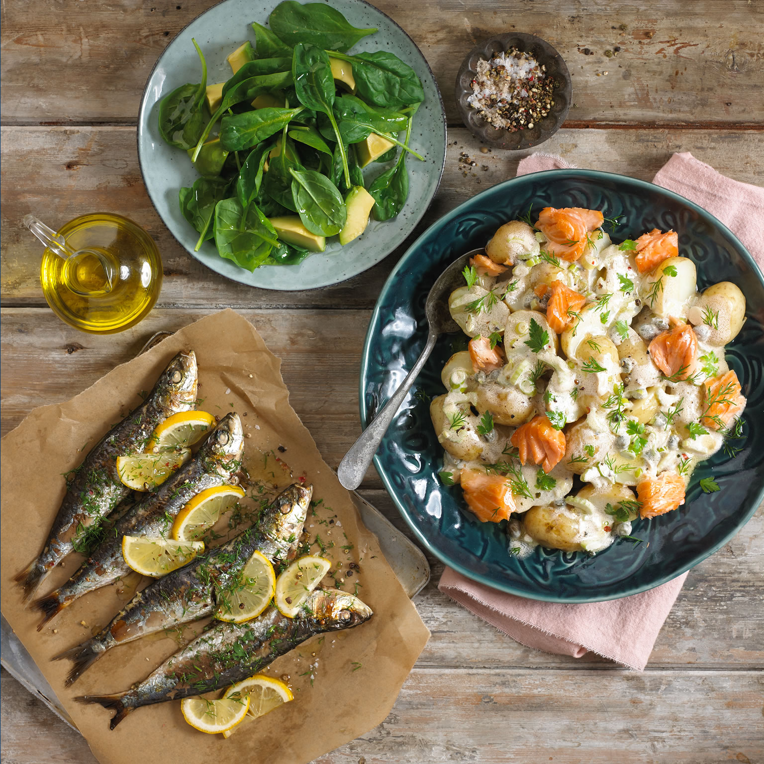 Scandinavian Omega 3 Potato Salad
