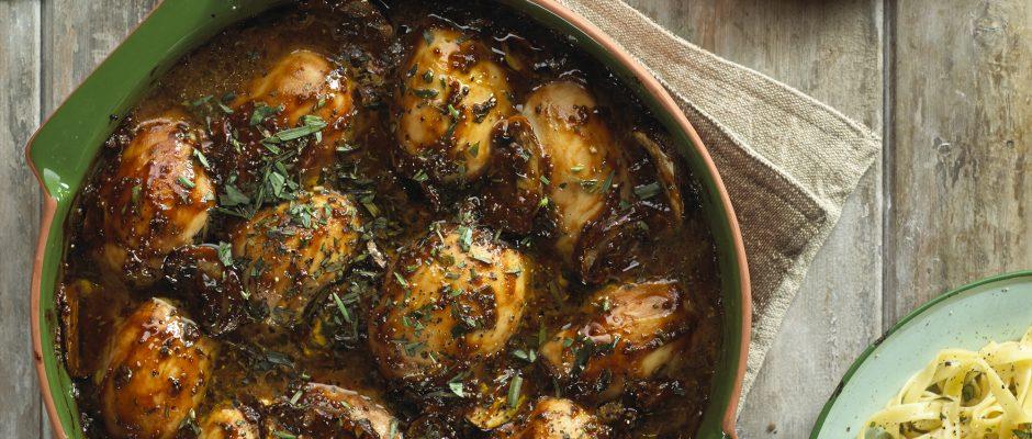 Chicken and mustard casserole