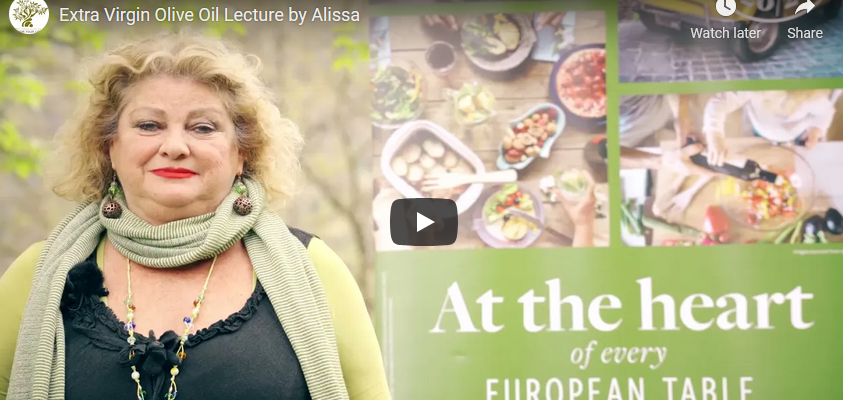 Extra Virgin Olive Oil Lecture by Alissa