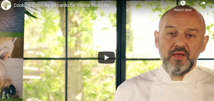 Cooking Class: by Riccardo for 'Flavor Your Life